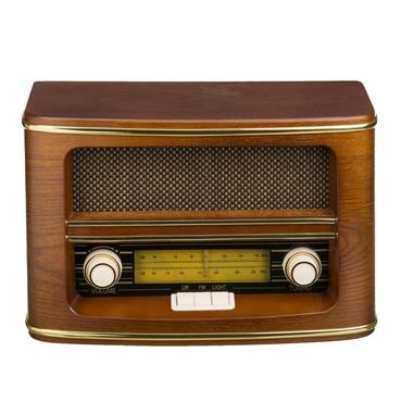 CAMRY RETRO RADIO WOOD effect | CAM1103