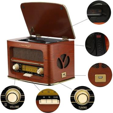 Camry Retro Radio LW/FM with CD/MP3 player | CAM1109