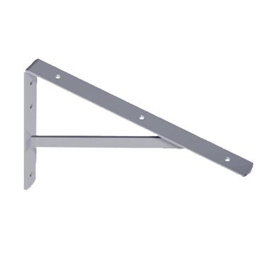 WHITE INDUSTRIAL SHELF BRACKET 500X330MM