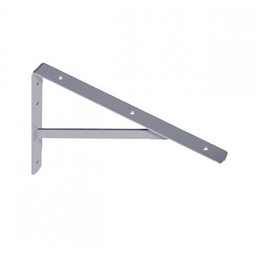 Industrial Shelf Bracket 400mm x 270mm - Grey | ELE124Z