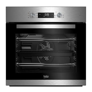 Beko Built-In Multifunction Single Oven - Stainless Steel | BNIE2300XD