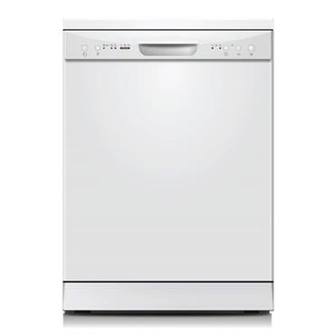 Powerpoint 12 Place Dishwasher - White   P2612M2WH