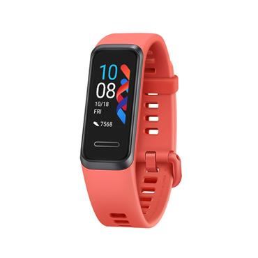 Huawei Band 4 Fitness Tracker Watch - Red Amber Sunrise