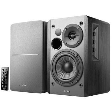 Edifier Bluetooth Active Multimedia Speakers Pair - Black Wood Effect | R1280DBB