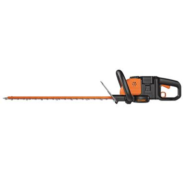 WORX Power Share Cordless Hedge Cutter Trimmer - 60cm - 2 x 20V Batteries Included | 270509