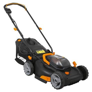 WORX Power Share Cordless Battery Lawn Mower - 40cm - 2 x 20V Batteries | 270512
