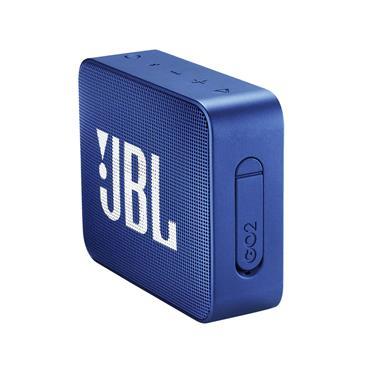 JBL Go 2 Portable Wireless Bluetooth Speaker - Blue   JBLGO2BLU