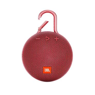 JBL Clip 3 Portable Bluetook Speaker - Red | JBLCLIP3RED