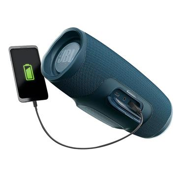 JBL Charge 4 Bluetooth Waterproof Speaker - Blue | JBLCHARGE4BLU