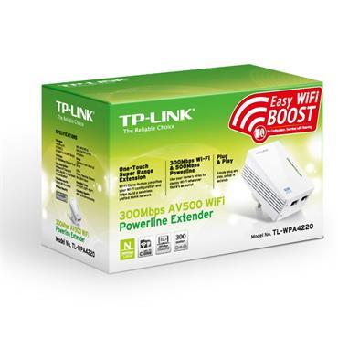 TP-Link Powerline Wi-Fi Extender 2 ports | TL-WPA4220V1.2