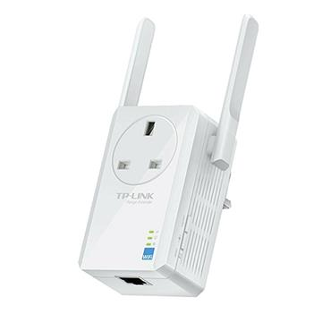 TP-LINK 300Mbps Wi-Fi Range Extender with AC Passthrough | TL-WA860RE