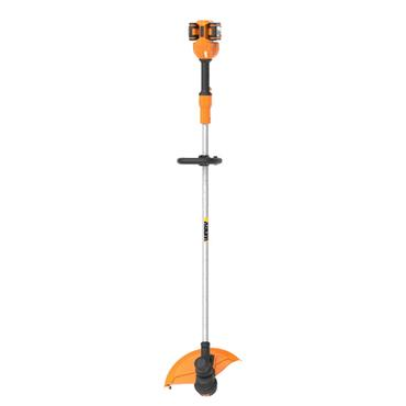 Worx Power Share Cordless Grass Trimmer 33cm 2 x 20V Batteries Included | 270508