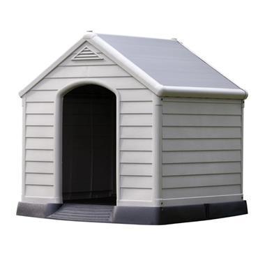 Curver Large Plastic Dog Kennel / House | KTR231076
