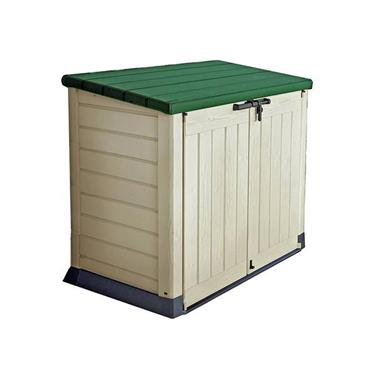 Keter Store It Out Max Green Lid Plastic Garden Storage Shed | KTR220407