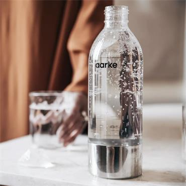 Aarke PET Water Bottle - Polished Steel | 126-AAPB1-STEEL