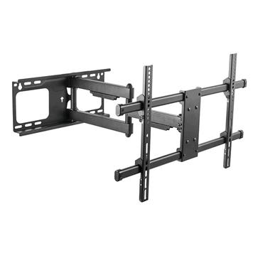 """iTECH Double Arm Wall Mount TV Bracket for 37"""" to 80"""" - Black   PTRB77"""