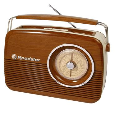 ROADSTAR TRADitional  RADIO wood effect | TRA-1957/WD