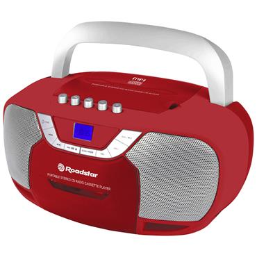 Roadstar CD Radio Cassette Player - Red | RCR-4625URD