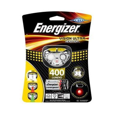 Energizer Vision Ultra Headlight Head Torch 400 Lumens | 1815-21