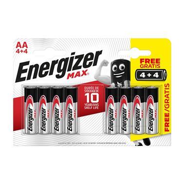Energizer AA Batteries 4+4 (8 Pack)   XMS21BATTAA