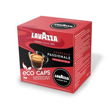Lavazza Espresso Passionale Compostable Coffee Pods Capsules 16 Pack | 8970