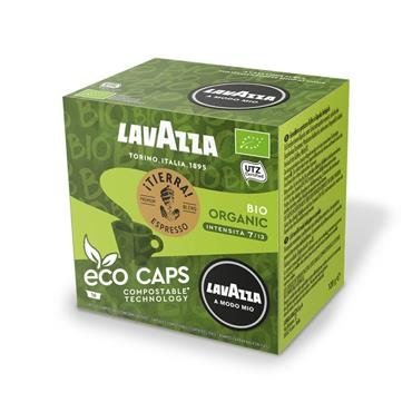 Lavazza Tierra Bio Compostable Coffee Pods Capsules 16 Pack | 8976