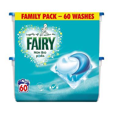 FAIRY NON BIO PODS 60 WASH