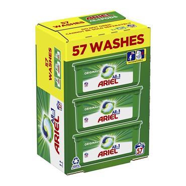 Ariel All In 1 Washing Pods Original 57 Wash