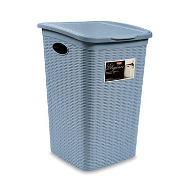 Elegance Laundry Basket - Blue (38x37x54cm) | 55250