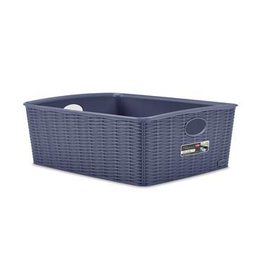 Elegance Small Basket 36cm x 29cm x 13cm - Blue | 55276