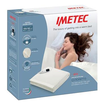 Imetec 6 Heat Double Overblanket Electric Blanket | 16738