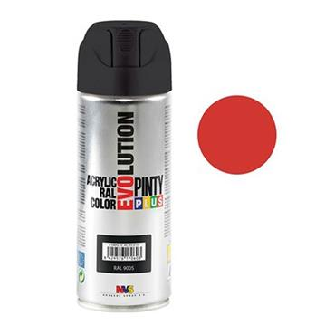 Pinty Plus Evoultion Spray Paint 400ml - Traffic Red   PP170801
