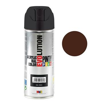 Pinty Plus Evoultion Spray Paint 400ml - Chocolate Brown   PP224801