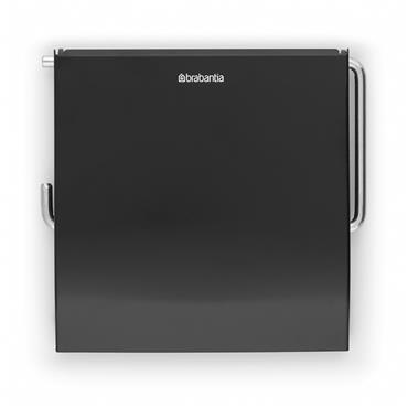 Brabantia Toilet Roll Holder - Black | 108600