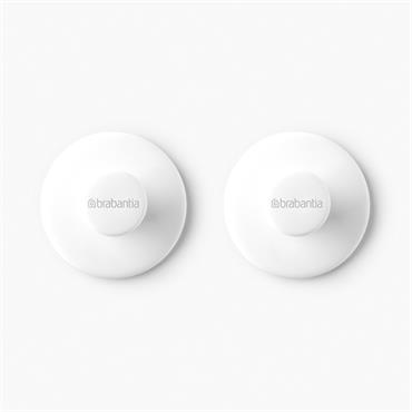 Brabantia Towel Hook Set - White | 280344