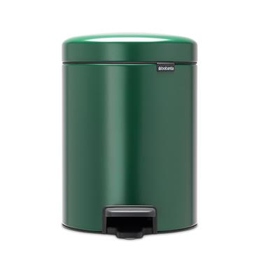 Brabantia 5 Litre New Icon Pedal Bin - Pine Green | 30402