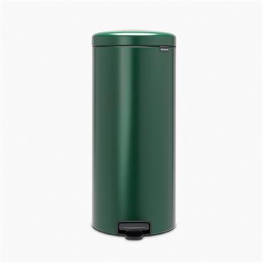 Brabantia 30 Litre New Icon Pedal Bin - Pine Green   30408