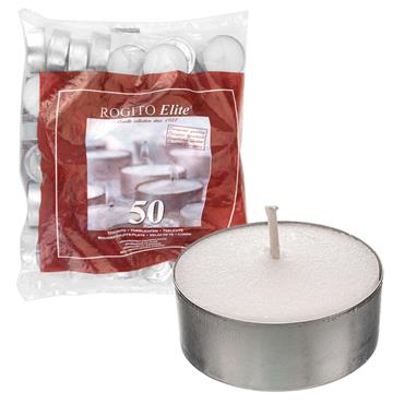 TEALIGHTS 50 PACK 8 HOUR BURNING TIME