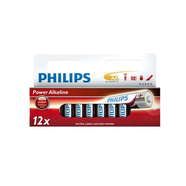 PHILIPS AA BATTERIES 12 PACK