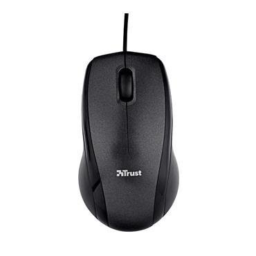 Trust Carve USB Optical Mouse - Black   T15862