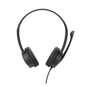 Trust PC Mauro USB On Ear Headset with Microphone for Pc or Laptop | T17591