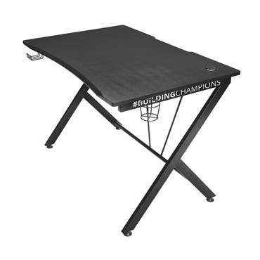 Trust GXT711 Dominus Gaming Table Desk - Black / Green | T22523