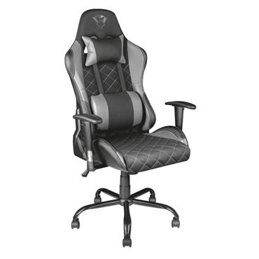 Trust GXT 707G Resto Gaming Chair - Grey / Black | T22525
