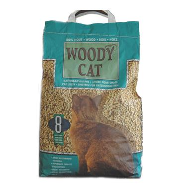 WOODY CAT LITTER 8 LITRE
