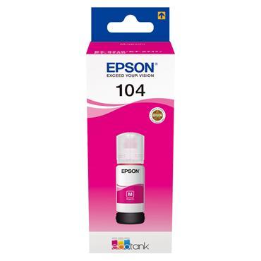 Epson Ecotank 104 65ml Ink - Magenta | C13T00P340