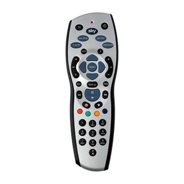 Sky HD TV Remote Control - Silver & Blue | SKY120