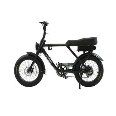 Knaap Electric Pedal Bike - Generation 1 - Black | 222-KP-AMS01MBK