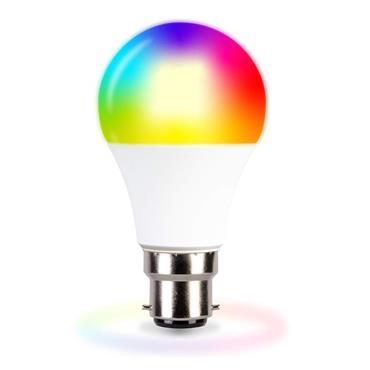 TCP Smart WIFI LED B22 RGBW Bulb | TCPB22COL