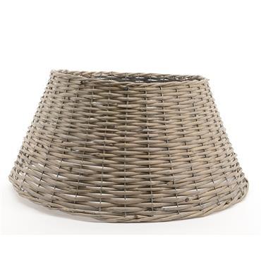 Kaemingk 70cm x 28cm Grey Willow Christmas Tree Skirt | 9987585