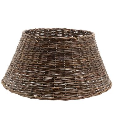 Kaemingk 70cm x 28cm Brown Willow Christmas Tree Skirt | 9947530